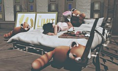 LB Sept I - Cuddle Pile (Vanity ) Tags: moonhair maitreya blueberry teefy halfdeer scarletcreative tarte gahome mishmish fetch secondlife slevents luxebox thesecretaffair theforest meshfashion meshdecor secondlifeblog maitreyacompatibleattire virtualworld 3d