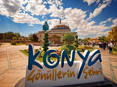 Mevlana Museum, Konya, Turkey (CamelKW) Tags: turkey2016 mevlanamuseum konya turkey whirlingdervishes mevlâna rumi