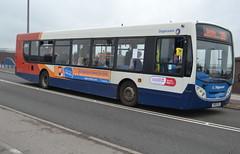 Stagecoach MAN 18.240 22640 YN58CEA - Doncaster (dwb transport photos) Tags: stagecoach man alexander dennis enviro bus 22640 yn58cea doncaster