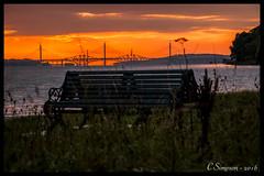 View from the Crookies (Huck Finn Imagery) Tags: crookies boness forth bridge bridges rail