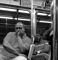 Catching Up (goofcitygoof) Tags: napping septa commuters philadelphia