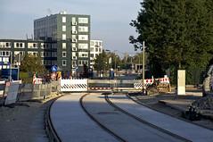 Derzeit beginnen am Vogelweideplatz die Arbeiten am Unterbau der Haltestelle (Frederik Buchleitner) Tags: baustelle bergamlaim haidhausen linie25 mvg munich mnchen neubaustrecke steinhausen strasenbahn streetcar tram trambahn