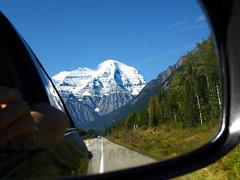 Big Robson (baldosamarilla) Tags: canada landscape mirror britishcolumbia roadtrip rockymountains mountrobson rocosas canadianrockies