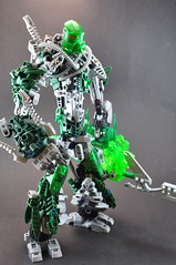Li, Toa of Lithium (Toa Phosphorus) Tags: li tank lego bionic ninja tuna bionicle toa lithium phosphorus