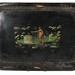 245. Large 19th Century Tole Ware Tray