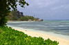 DSC_2649b La Digue, Seychelles: View from the Beach in Front of our House Rental (wanderlust  traveler) Tags: ocean africa blue sea panorama nature landscape island rocks paradise palmtree tropical seychelles ladigue torquoise
