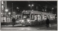 The Night Tram (Roland Bogush) Tags: gothenburg goteborg