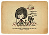 Hora de la comida (Anita Mejia) Tags: life cute love illustration pen ink cat day journal kitty doodle gato kawaii sanvalentin 14defebrero chocolatita anitamejia