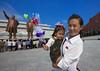Mother And Daughter Going To Pay Respect To The Two Statues Of The Dear Leaders In Grand Monument Of Mansu Hill, Pyongyang, North Korea (Eric Lafforgue) Tags: flower color colour statue horizontal asian war asia day propaganda mother ceremony korea celebration asie coree 2people twopeople northkorea lifestyles pyongyang dprk coreadelnorte capitalcities lookingatcamera northkorean nordkorea handup mansudae democraticpeoplesrepublicofkorea 북한 img7014 北朝鮮 корея coreadelnord 조선민주주의인민공화국 северная insidenorthkorea 朝鮮民主主義人民共和国 rpdc βόρεια coreiadonorte เกาหลีเหนือ