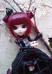 Pullip lunatic queen -stock (Lilith In tenebris ) Tags: rabbit love queen romantic pullip ichi lunatic s taeyang domition infera