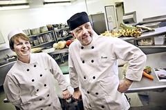Chefs in Fenwick Newcastle (dangrahamphotography) Tags: portrait food man kitchen happy women good foodporn chef cooks fenwick chefs dangraham chefhat topchefs dangrahamphotography dangrahamphotographycom