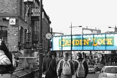 Camden Lock (Lo766) Tags: street uk winter bw london sign 50mm streetphotography odc camdenlock 2013 odc2 ourdailychallenge lo766