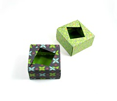 Boxes - Fuse (rebecccaravelry) Tags: origami box september fuse tomokofuse