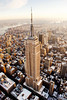 The Empire State Building (noamgalai) Tags: above city nyc snow ny newyork building buildings river landscape view stock helicopter esb hudsonriver empirestatebuilding noamgalai p1f1