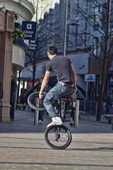 12 (snappitt photography) Tags: family people kids fun dance bmx candid streetphotography bikes belfast entertainment acrobatics cornmarket snappitt backinbelfast