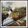 Travels With My Instamatic 25.   1970. (Kingfisher 24) Tags: bridge snow wall scotland fife signal cupar class26 brcwtype2 d5306