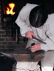 Blacksmith (johnmcochran2012) Tags: george pentax kodak colonial mount metalwork spotmatic 100 blacksmith vernon mountvernon virignia livinghistory ektar washingtons georgewashingtonsmountvernonestate