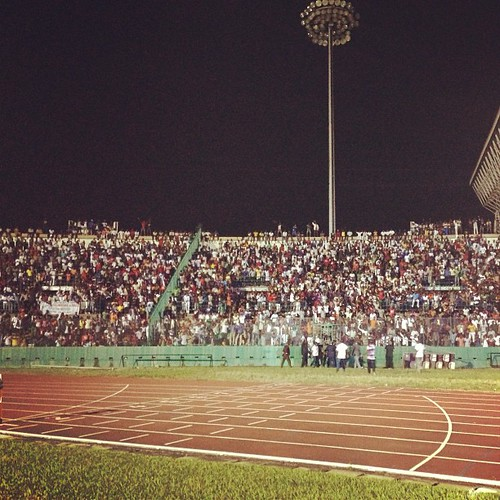 Amazing show @ Brazzaville #brazzaville #congo #stadium
