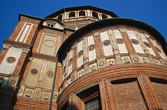 Milan November 2011 (scatman otis) Tags: italy milan architecture chruch thelastsupper divinci milanitaly santamariadellegrazie leonardodivinci