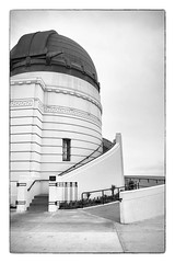 Starry Night (c_kreature) Tags: california ca blackandwhite bw building architecture la blackwhite losangeles los downtown angeles structure observatory socal planetarium astronomy artdeco southerncalifornia griffithpark griffithobservatory lacounty losangelescounty canon5dmkii benjaminsoto colonelgriffithjgriffith griffithnews