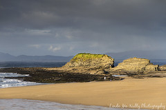 Bundoran Beach (linda_mcnulty) Tags: ireland sea seascape beach water canon landscape coast sand cliffs donegal bundoran