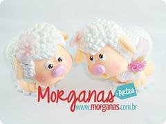 Ovelhas (Andréia Morganas) Tags: party cake galinha biscuit festa aniversário pintinho fazenda galinhas fazendinha galinhadangola ovelha pintinhos toper portadoces