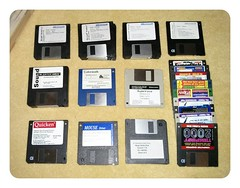 3 and a half inch (Ali Craigmile) Tags: windows mouse dos disk floppy software microsoft works movel soundblaster quicken awe32 coverdisk flickrandroidapp:filter=none