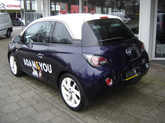 Zeist: New Opel Adam (harry_nl) Tags: adam netherlands nederland zam zeist opel 2013 ocar