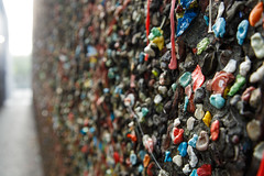 Bubblegum Alley, San Luis Obispo (TomFalconer) Tags: california wall gum alley colorful sticky gross bubblegum slo sanluisobispo