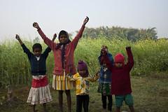 Children's Mood (Sandeep Santra) Tags: people india cute children mood village child place joy westbengal incredibleindia bankura jemua