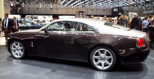 Rolls Wraith coupé (3)