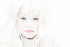 (Kilkennycat) Tags: portrait white snow girl canon children child bright greeneyes highkey snowwhite ghostly 500d kilkennycat t1i ryanconners 100mm28l