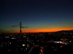 (carolterra) Tags: city sunset cidade night buildings darkness sopaulo prdosol sampa sp noite nightlife bigcity prdios urbanlife vidaurbana cidadegrande