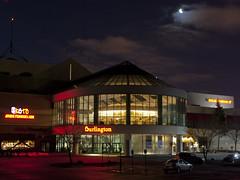 Day 340: Carousel Mall and the Moon (george.m.hernandez) Tags: moon night mall pentax carousel handheld syracuse centralnewyork carouselmall destinyusa sigma30 pentaxk10d