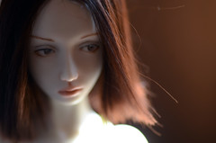 reflections (anninaislove) Tags: ana doll teri bjd porcelain balljointeddoll iimagined silentfaces paperwhitedoll