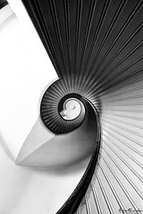 Yin-Yang (Andrew Shoemaker) Tags: california lighthouse abstract stairs san pattern diego yang yin