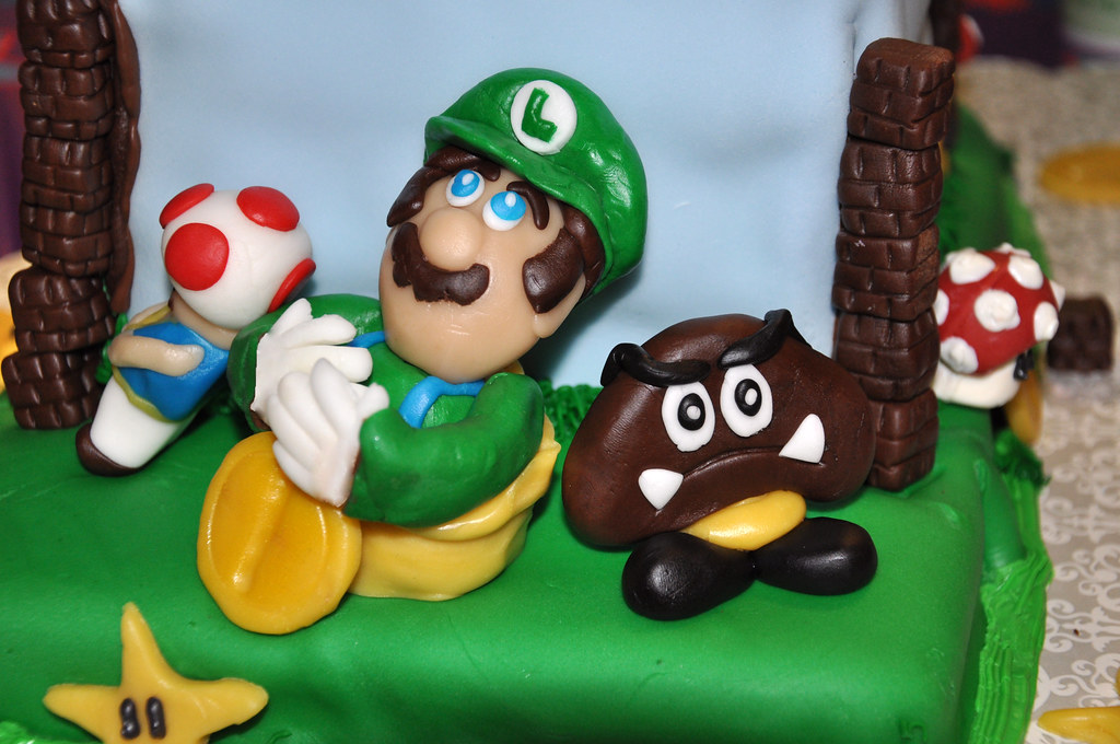 The World S Best Photos Of Fondant And Supermario Flickr