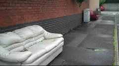church_vale_2 (davy1982) Tags: abandoned leather sofa rubbish waste settee