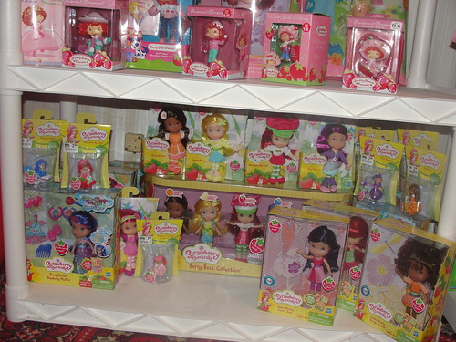 Strawberry Shortcake Hasbro doll shelf
