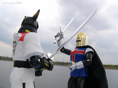 vs (tsukasatan696) Tags: castle toy outdoor ninja figure saitama org toda jiraiya toyphotography  outdoortoyphotography  dokusai doumangreenpark baronowl sekaininjasenjiraiya