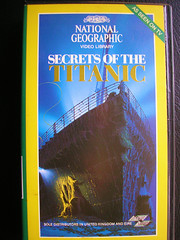 Secrets Of The Titanic. VHS Tape. 1986. USA. (Jimmy Big Potatoes) Tags: films movies dvds vhs rmstitanic