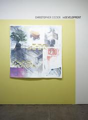 in Development (christophercozier) Tags: laocoon redwhiteblue indevelopment nowshowing allthatsleft thattree christophercozier caribbeancontemporaryart siteofexchange davidkrutprojectsnewyork