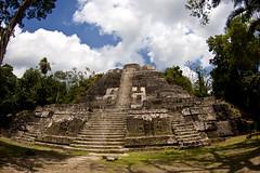 High Temple N10-43 (gr8dnes) Tags: belize centralamerica lamanai orangewalkdistrict indianchurchvillage britishhonduras lamanaiarchaeoogicalreserve archaelogicalreserve hightemplen1043