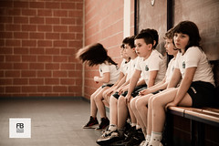 I don't wanna stay on the bench (Felice Bassani) Tags: italy muro sport wall canon bench hair children waiting looking bambini bricks sguardo palestra 5d volleyball sight gym volley capelli panchina pallavolo guardare mattoni aspettare rogeno