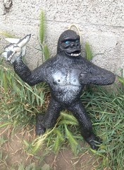 King Kong jiggler (Keffpristine1) Tags: vintage toy king rubber kong jiggler