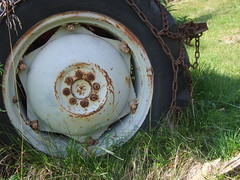 DSCF1708 Ferguson tractor, detail (boaski) Tags: summer mountain nature norway norge norwegen norvegia osen noorwegen trysil hedmark norwege sterdalen norwegia sreosen