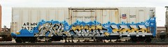 Tawl/Reez/Kres (quiet-silence) Tags: railroad art train graffiti fb ant railcar kfc unionpacific graff freight lords reefer armn fr8 kres reez tawl allnation armn767202