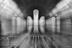 Divine Intervention! (_Amritash_) Tags: longexposure blackandwhite bw london glass zoom surreal traveller scifi physics manual 1855mm naturalhistorymuseum manfrotto optics lighttrail zoomeffect hypnotize 1s divineintervention f29 zoomtunnel lensmovement specialeffectphotography d7000 amritash zoomtrail shuttermonk mechanicallensmovement