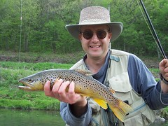 Troutsmith author Kevin Searock (Dan Small Outdoors) Tags: wisconsin flyfishing trout springcreek flytying troutfishing driftlessarea chalkstream portagehighschool dansmall outdoorsradio kevinsearock troutsmith