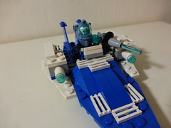Mr Freeze boat (Legofri) Tags: ice boat lego mr freeze batman lcold